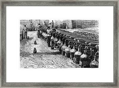 Explosives Industry Framed Print