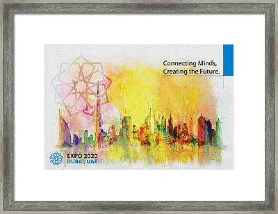 Expo Poster 1 Framed Print by Corporate Art Task Force