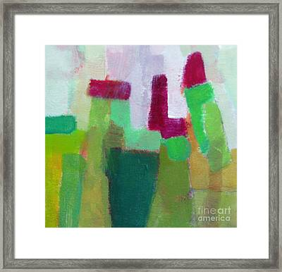 Exposed Iv Framed Print by Virginia Dauth