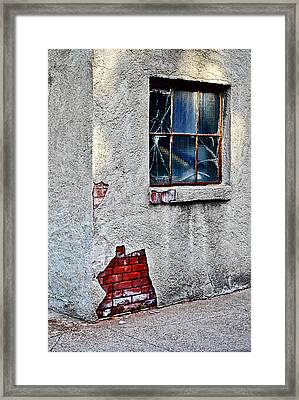 Framed Print featuring the photograph Exposed Past by Greg Jackson