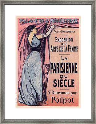 Exposition Des Arts De La Femme Framed Print by Gianfranco Weiss