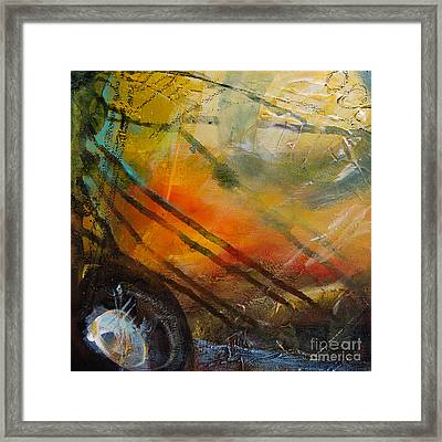 Expresion 4 Framed Print by Ira Ivanova