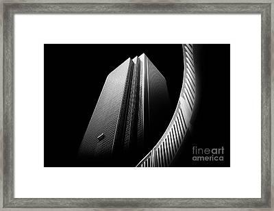 Express Elevator Framed Print