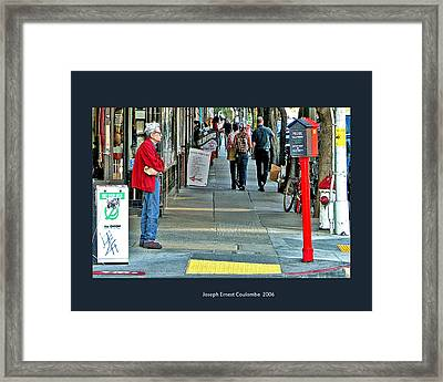 Express Photos Framed Print by Joseph Coulombe