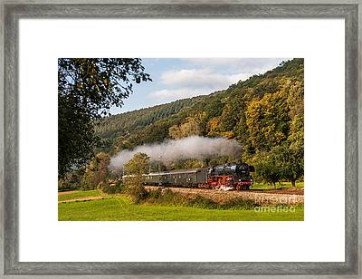 Express Train With The Pacific 01 045 Framed Print by Christian Spiller