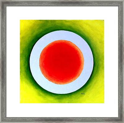 Express Yourself Framed Print by Thomas Gronowski