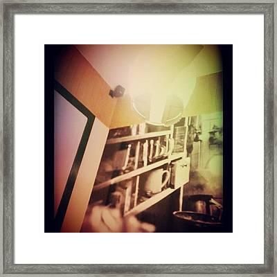 #expression #jadul #shoutout Framed Print