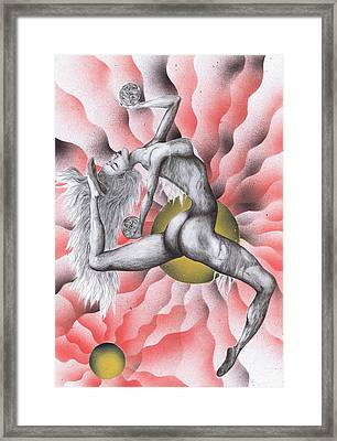Expression Of Movement Two Framed Print by Kenneth Clarke
