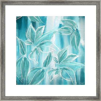 Exquisite Bloom Framed Print by Lourry Legarde