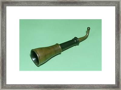 Extendable Ear Trumpet Framed Print