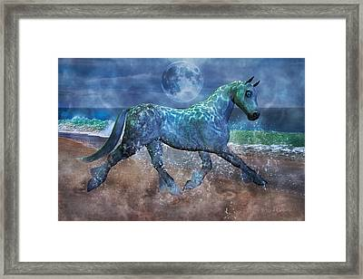 Extension Of The Sea Framed Print by Betsy Knapp