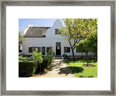 Exterior Of Blettermanhuis Framed Print by Panoramic Images