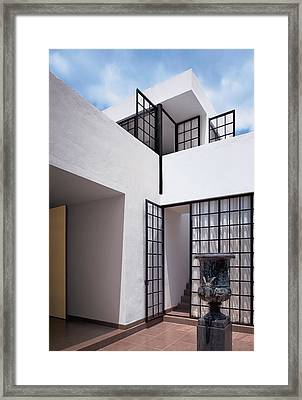 Exterior Of Modern Building Framed Print