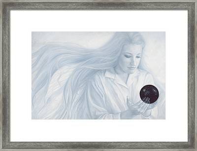 Exterior To The Physical Universe Framed Print by Lucie Bilodeau