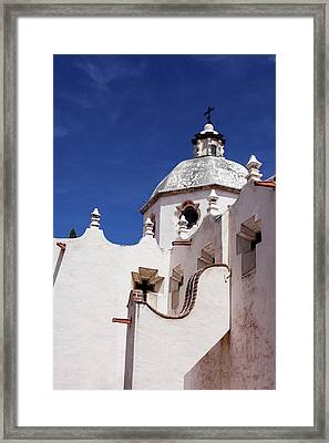 Exterior View Of A Church In San Miguel Framed Print