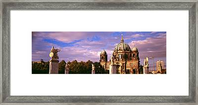 Exterior View Of The Berlin Dome Framed Print by Panoramic Images