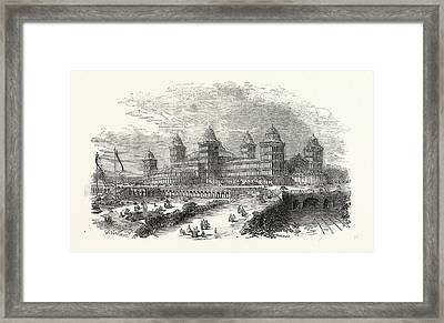 Exterior View Of The Palace At Muswell Hill Framed Print