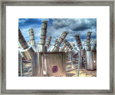Framed Print featuring the photograph Exterminate - Exterminate by MJ Olsen