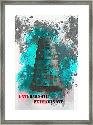 Exterminate Framed Print by Roger Lighterness
