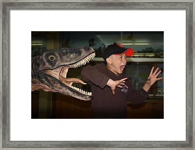 Extinct - My Ass Framed Print by Patrick Witz