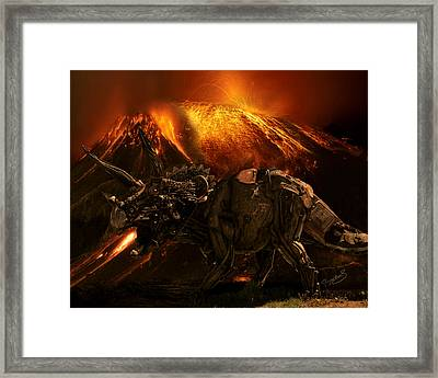 Extinction    The Second Coming Framed Print