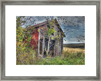 Extra Storage Framed Print by Sharon Batdorf