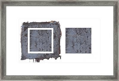 Extraction Vi Framed Print by Paul Davenport