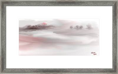 Framed Print featuring the digital art Extraordinary by Jessica Wright
