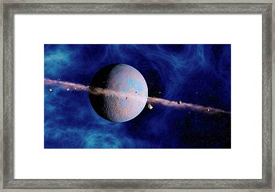 Extrasolar Planet Framed Print by Joe Tucciarone