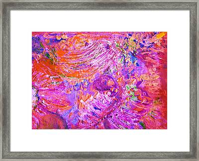 Extravaganza 2 Framed Print by Anne-Elizabeth Whiteway