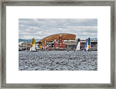 Extreme 40 At Cardiff Bay Framed Print