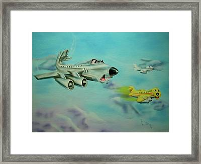 Extreme Airline Mergers Framed Print