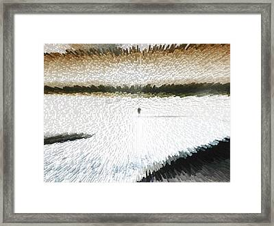 Extreme Alone Framed Print