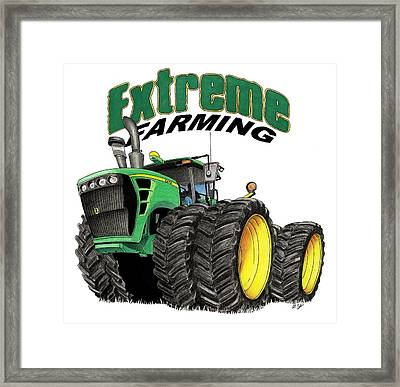 Extreme Farming Framed Print by Lyle Brown