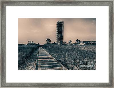 Extreme Makeover Lighthouse Edition Framed Print by Tony Cooper