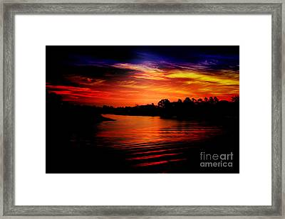 Extreme Sunrise Framed Print by Wagner WM