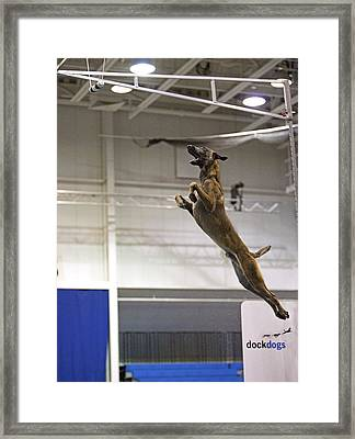 Extreme Vertical 12 Framed Print