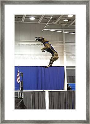 Extreme Vertical 3 Framed Print
