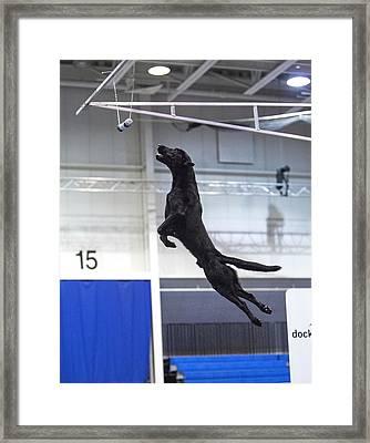 Extreme Vertical 4 Framed Print