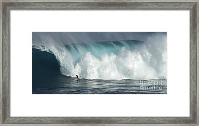 Extreme Ways Of Living Framed Print by Bob Christopher