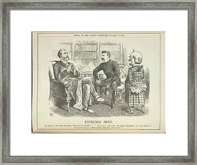 Extremes Meet Framed Print by British Library