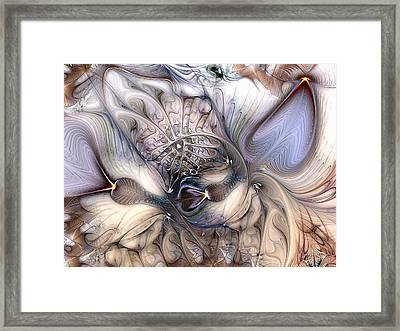Framed Print featuring the digital art Extrinsic To Everything by Casey Kotas