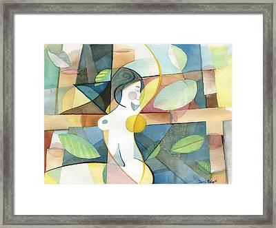 Exuberance Framed Print