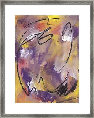 Exuberance Framed Print by Kathryn Foster