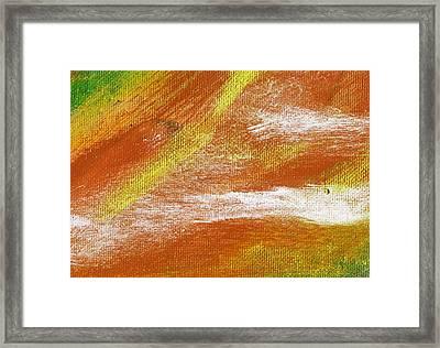 Exuberant Cooper Hue  Framed Print by L J Smith