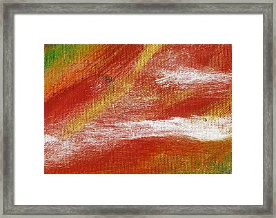 Exuberant Natural Framed Print by L J Smith