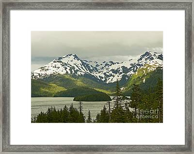 Framed Print featuring the photograph Eyak Lake Landscape by Nick  Boren