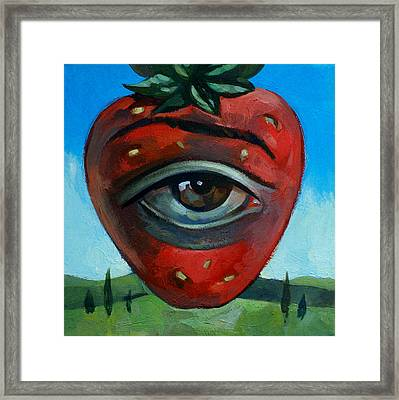 Eye Berry Framed Print by Filip Mihail