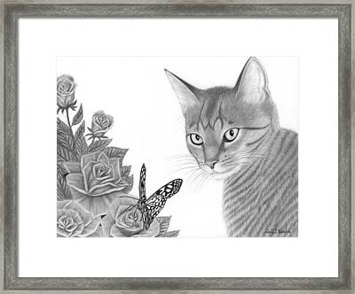Eye Catching Framed Print by Nicole I Hamilton