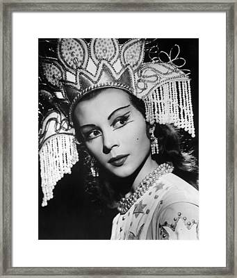 Eye Contact Framed Print by Retro Images Archive
